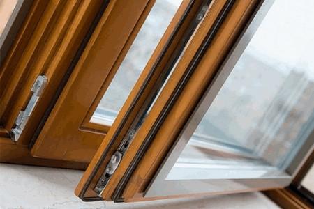 Дерево-алюминиевые окна купить в Минске