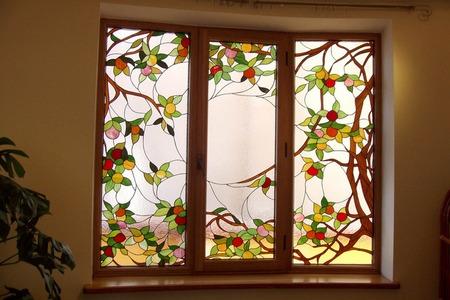 Витражные окна в Минске