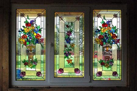 Витражные окна в Минске от производителя